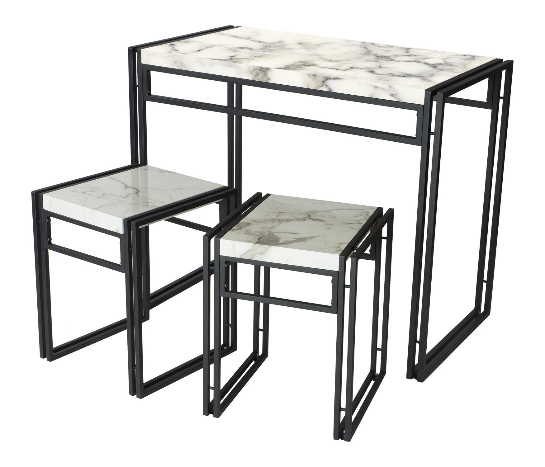 Well Known Debby Small Space 3 Piece Dining Sets Pertaining To Debby Small Space 3 Piece Dining Set (View 3 of 25)