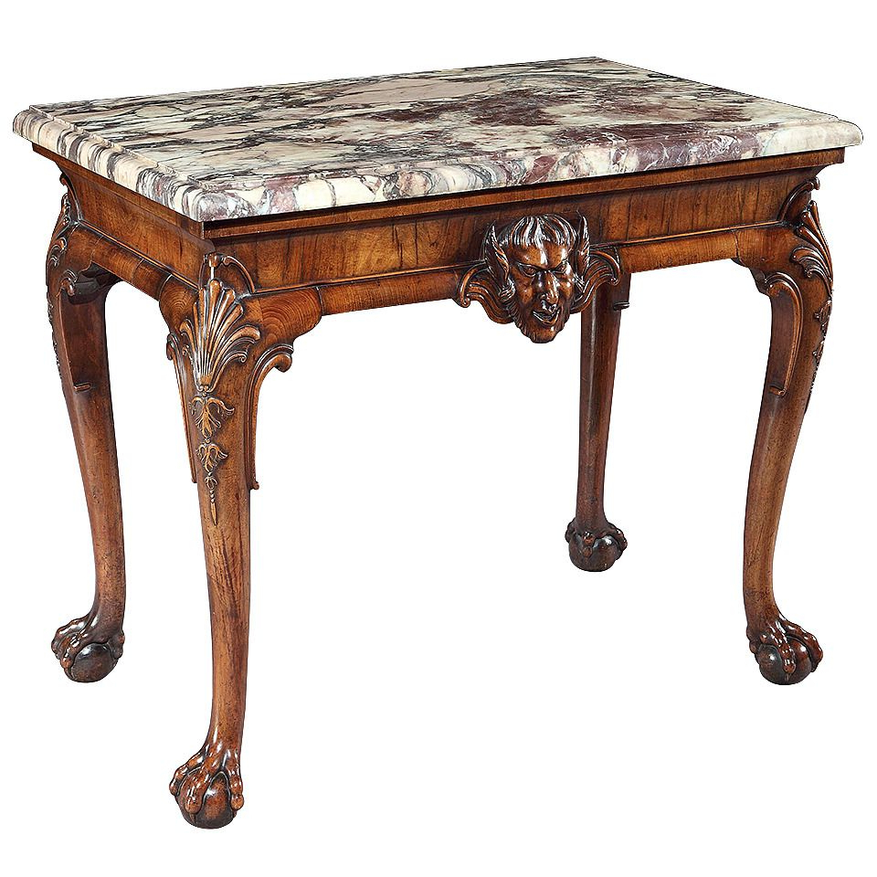 Well Known Giles 3 Piece Dining Sets In A George Ii Walnut Side Table Attributed To Giles Grendey ( (View 25 of 25)