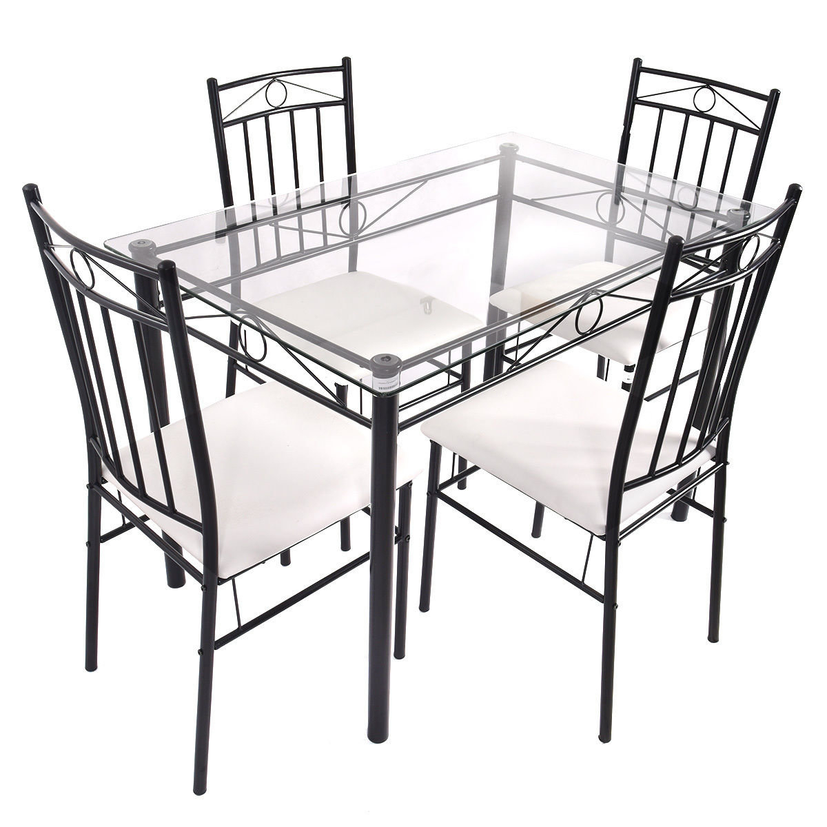 Well Known Stouferberg 5 Piece Dining Sets Within Fleur De Lis Living Shipststour 5 Piece Dining Set & Reviews (View 9 of 25)