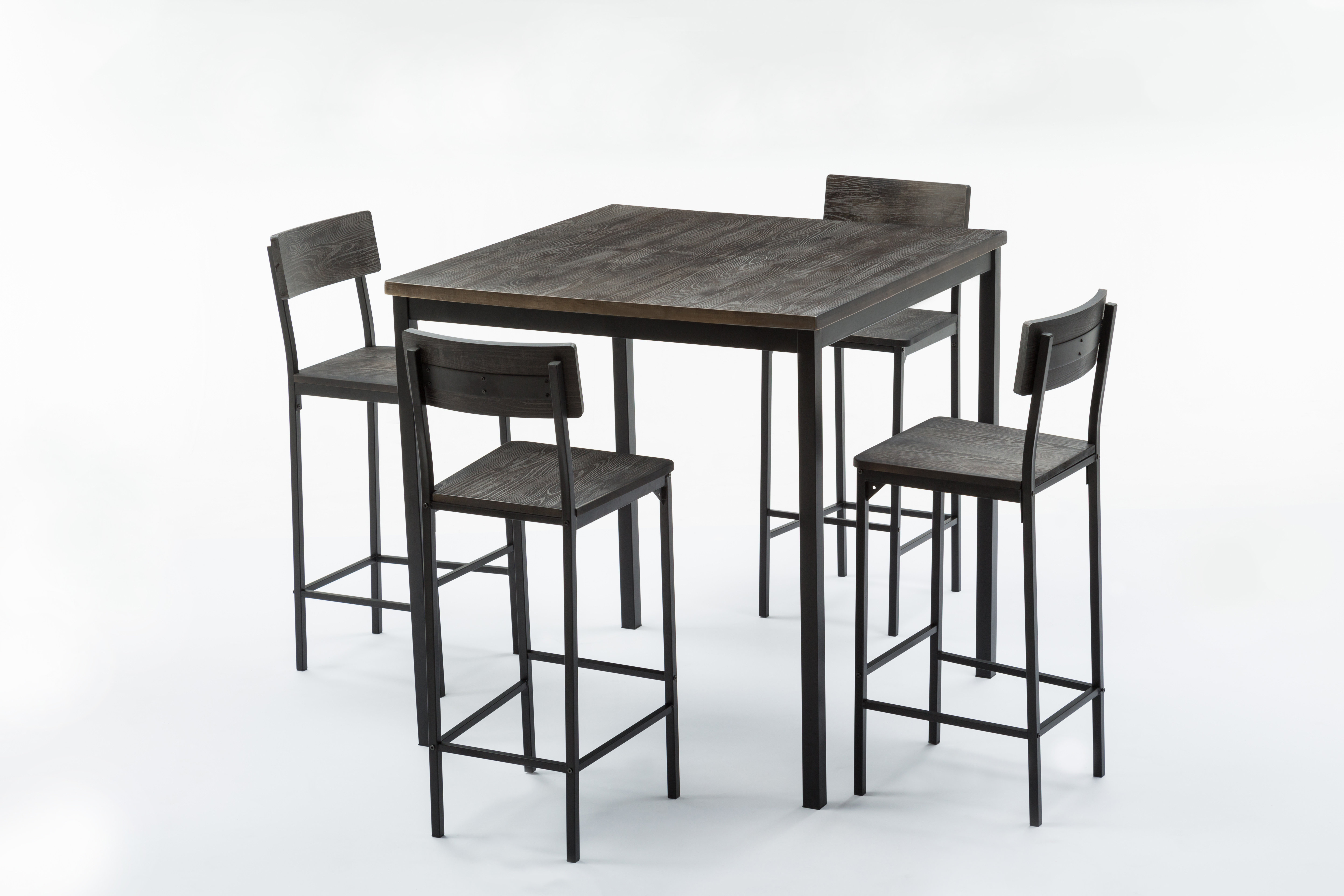 Well Known Williston Forge Bushman 5 Piece Pub Table Set (View 14 of 25)