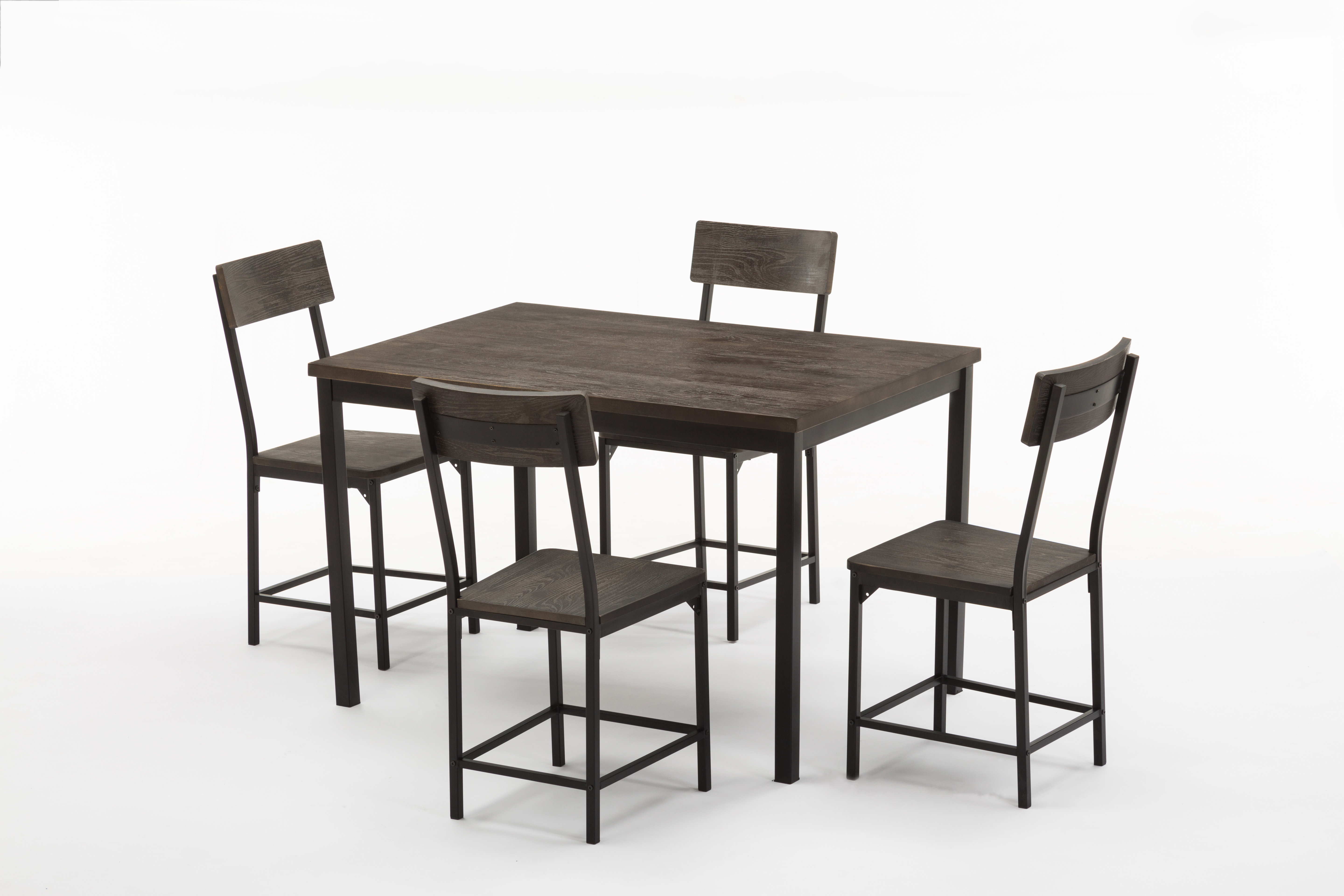 Well Liked Bryson 5 Piece Dining Sets Regarding Bushman 5 Piece Dining Set (View 19 of 25)