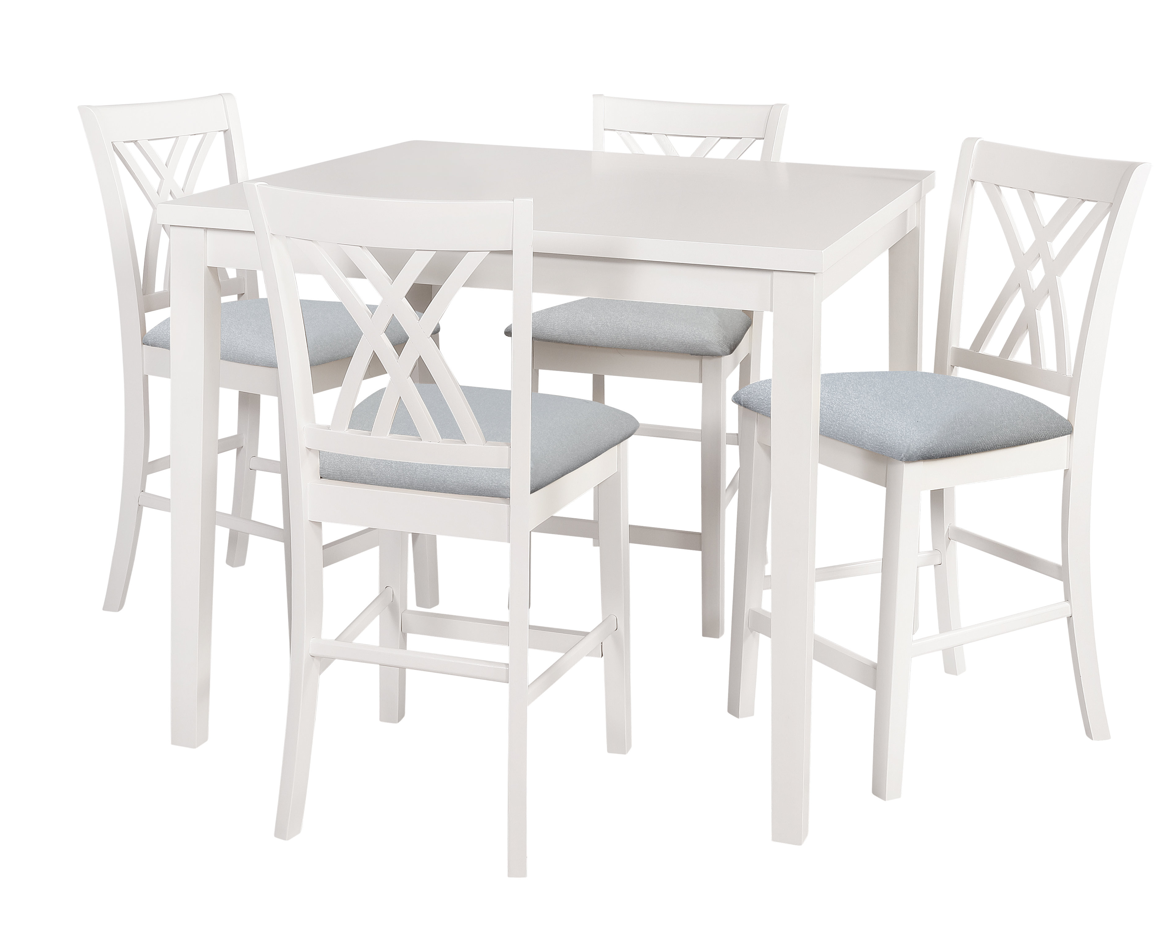 Well Liked Highland Dunes Gisella 5 Piece Breakfast Nook Dining Set & Reviews For 5 Piece Breakfast Nook Dining Sets (View 24 of 25)