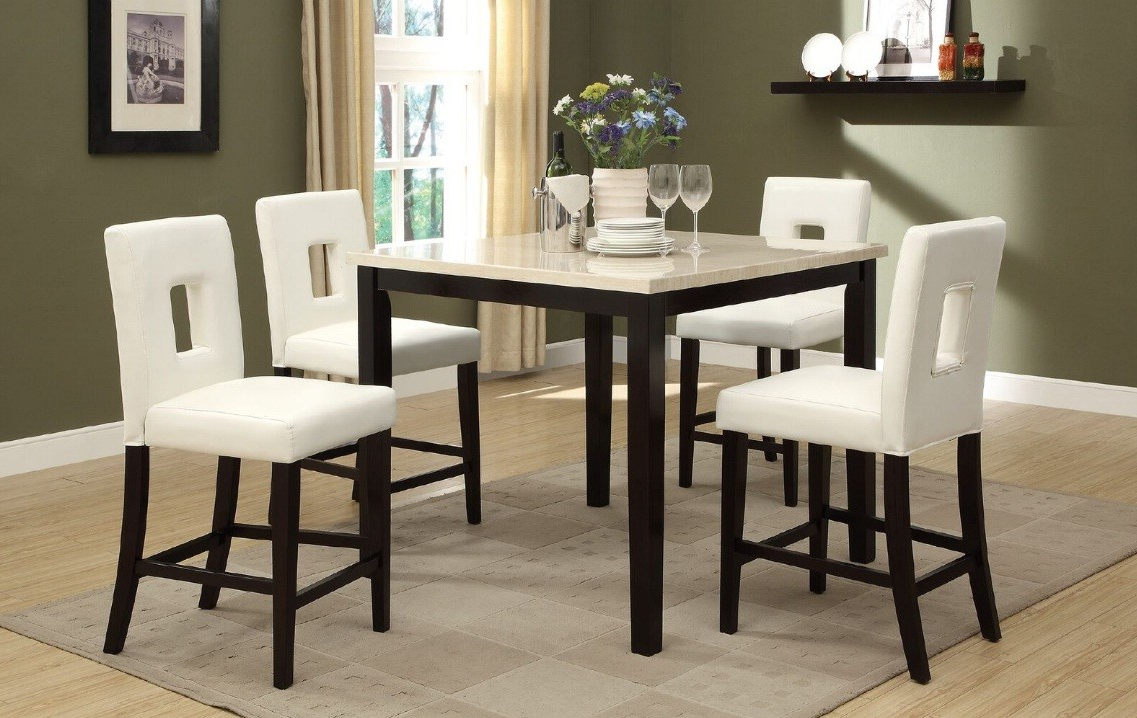 Well Liked Kernville 3 Piece Counter Height Dining Sets For A&j Homes Studio Reagan 5 Piece Counter Height Dining Set (View 22 of 25)