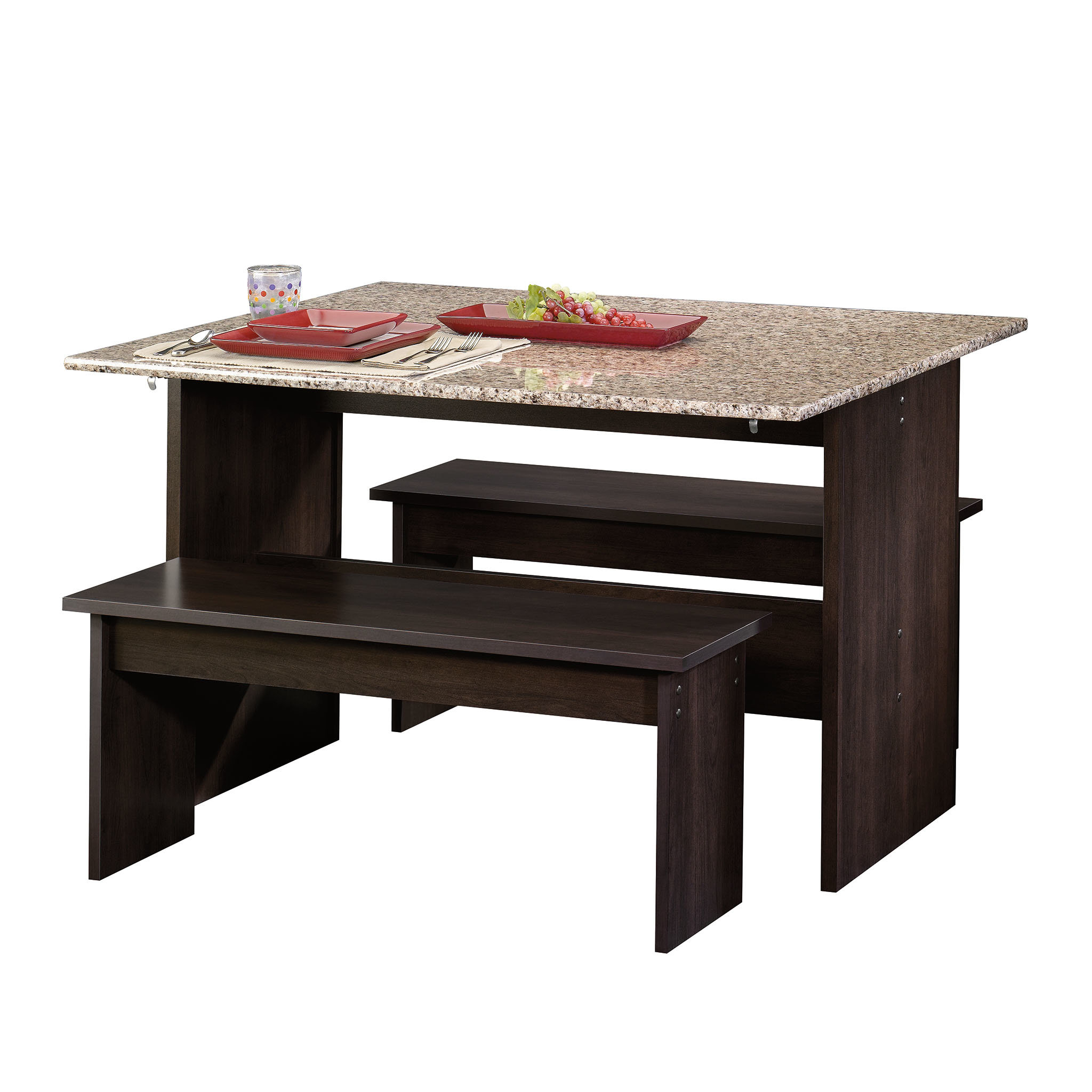 Well Liked Ryker 3 Piece Dining Sets In Ryker 3 Piece Dining Set & Reviews (View 23 of 25)