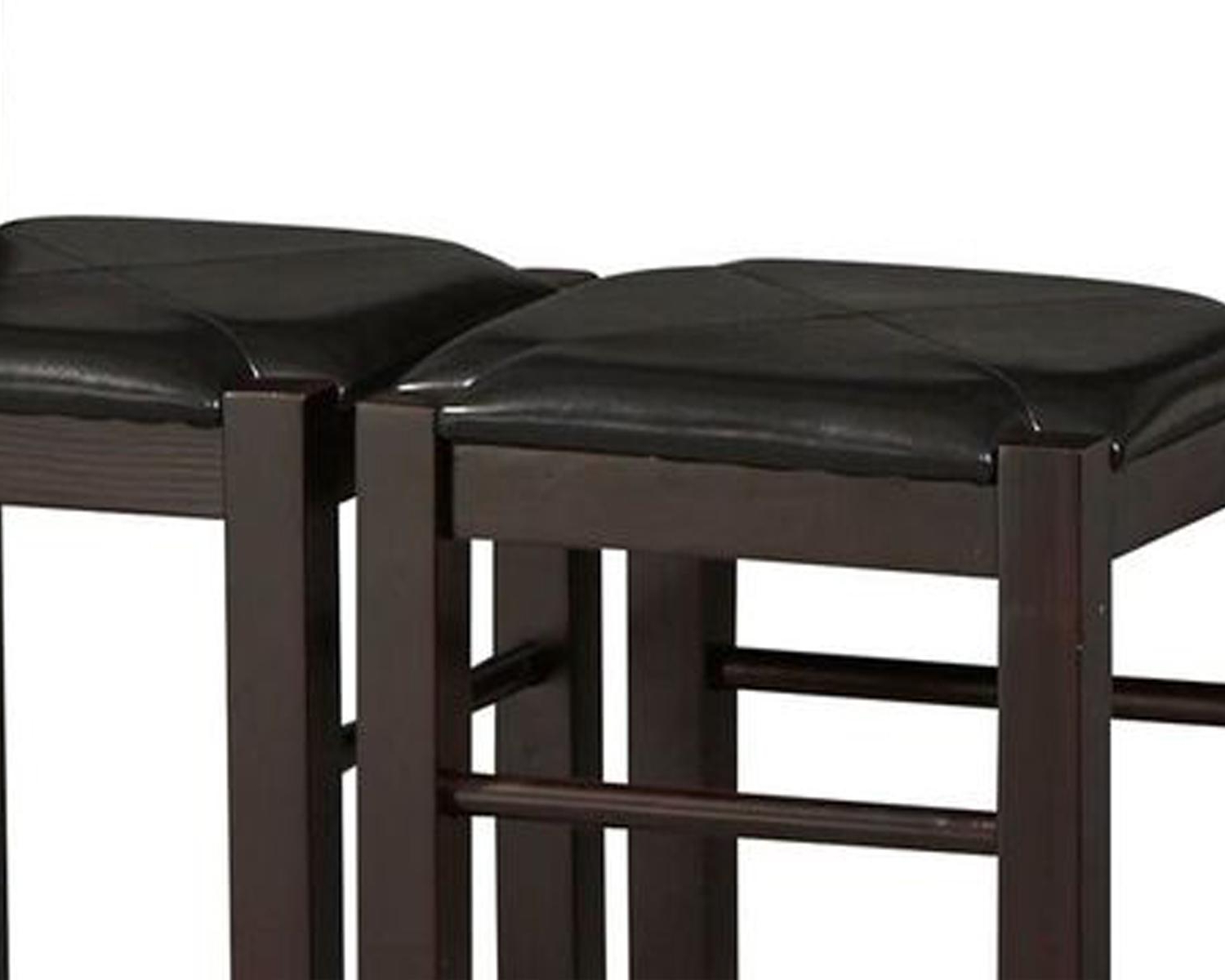 Well Liked Valladares 3 Piece Pub Table Sets In Amazon – Linon Tavern Collection 3 Piece Table Set – Table (View 12 of 25)