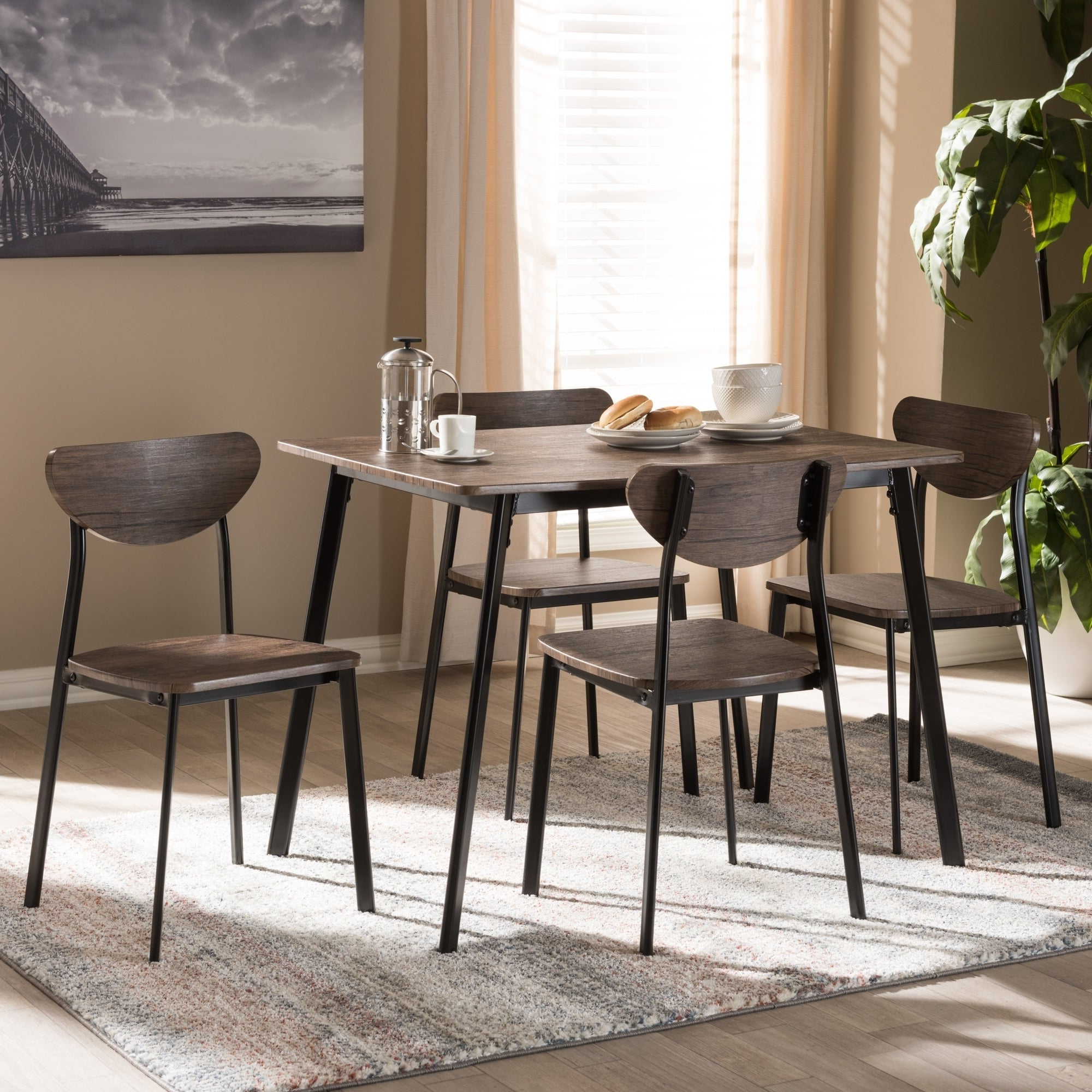 West Hill Family Table 3 Piece Dining Sets With Newest Buy 5 Piece Sets Kitchen & Dining Room Sets Online At Overstock (View 9 of 25)