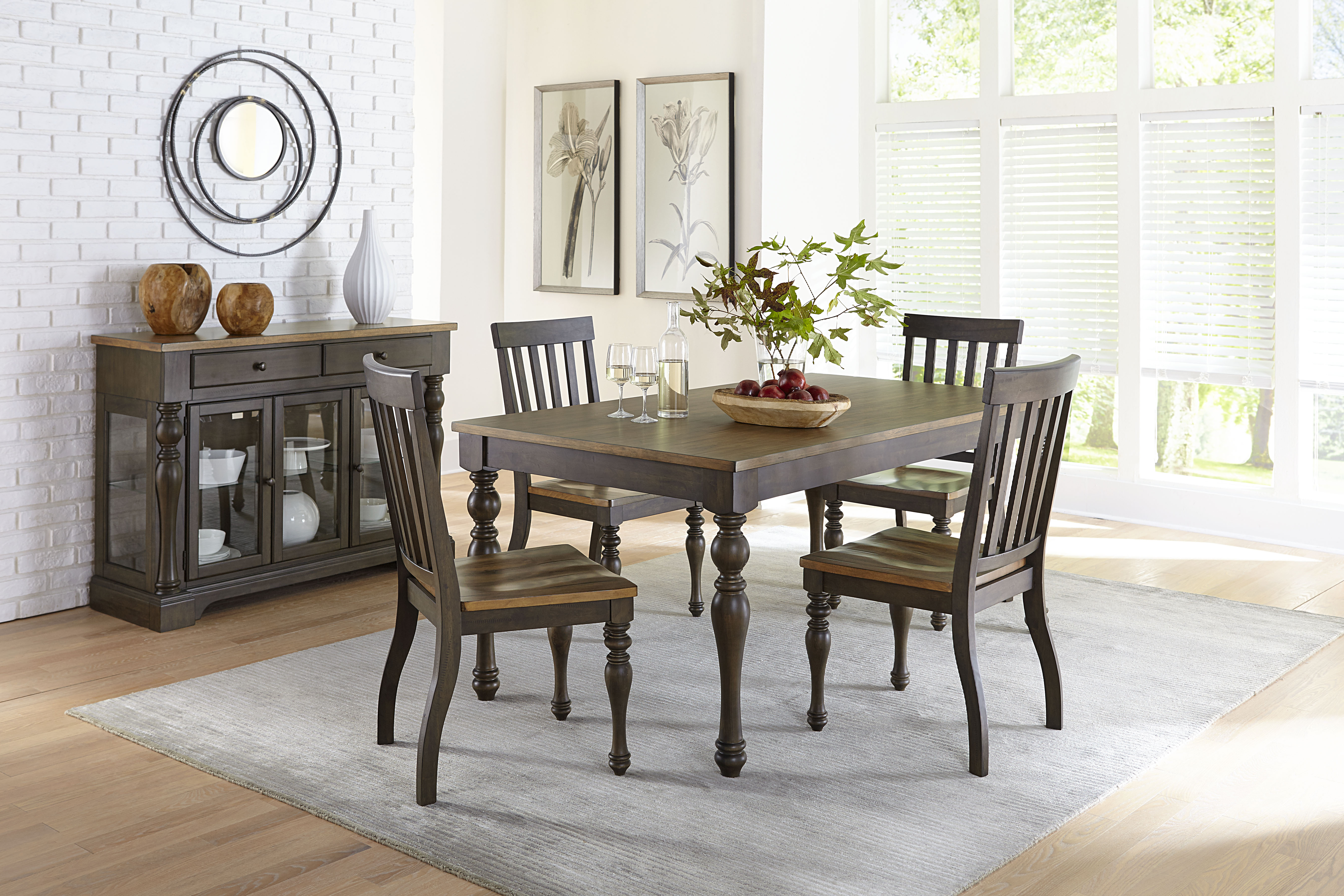 When All Is Said & Dunmore: We Love This New Dining Set! With Famous Cargo 5 Piece Dining Sets (View 6 of 25)