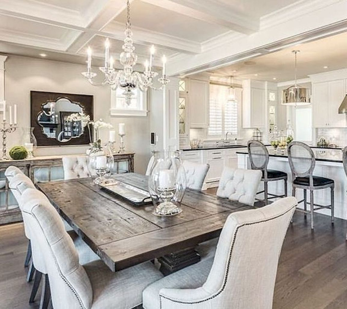 Widely Used Linette 5 Piece Dining Table Sets Within 90 Modern Farmhouse Dining Room Decor Ideas (View 25 of 25)