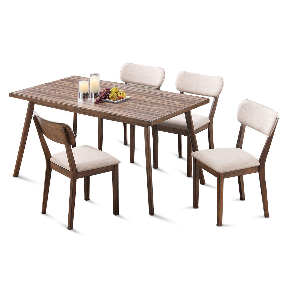 Wiggs 5 Piece Dining Sets Throughout Well Known George Oliver Eatmon 5 Piece Dining Set (View 11 of 25)