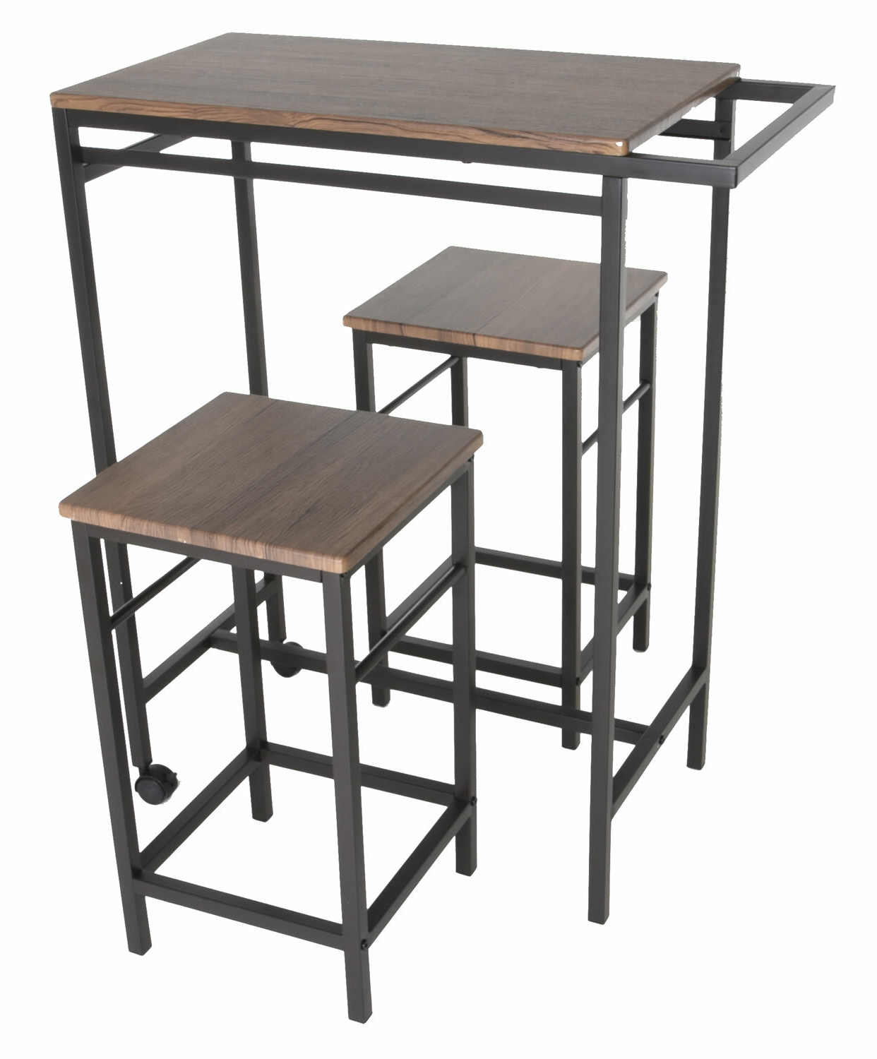 Williston Forge Maloney 3 Piece Pub Table Set & Reviews (View 7 of 25)