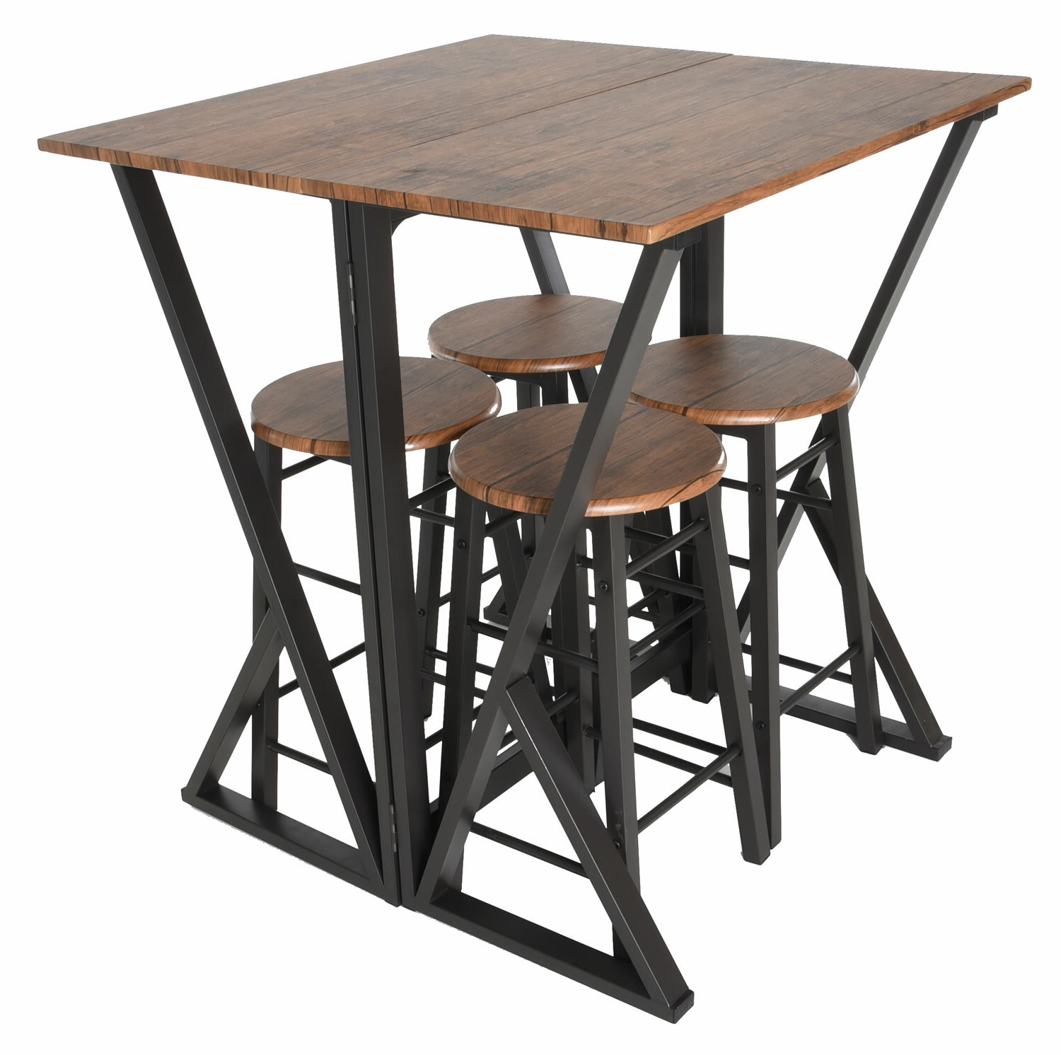 Williston Forge Maloney 5 Piece Pub Table Set (View 2 of 25)