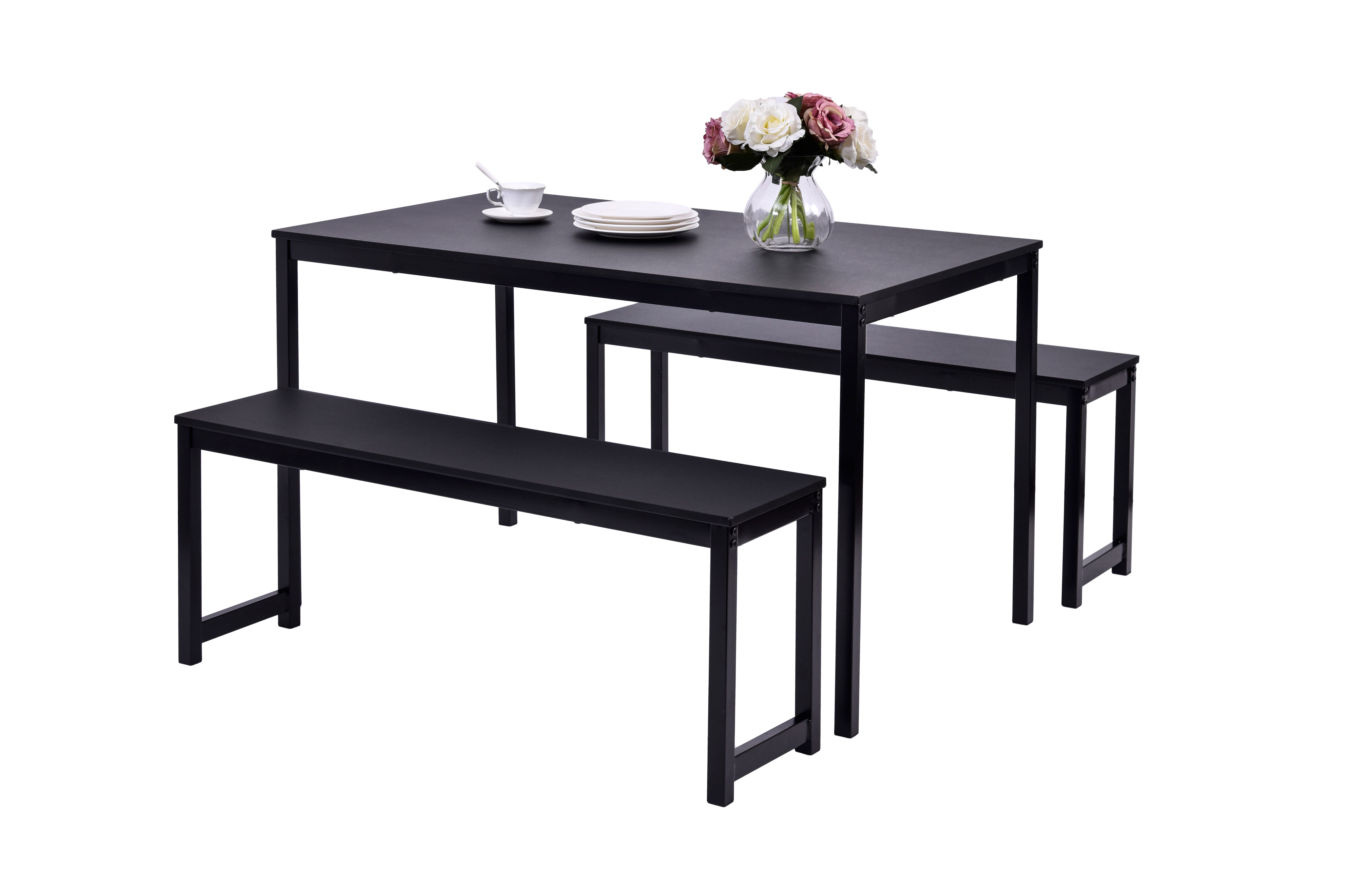 Williston Forge Partin 3 Piece Dining Set & Reviews (View 11 of 25)