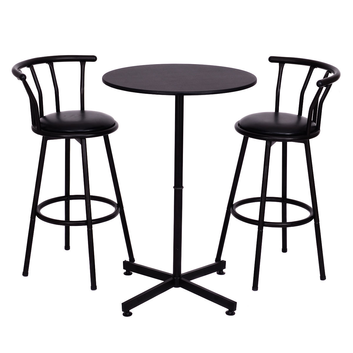 Winston Porter Caseville 3 Piece Pub Table Set & Reviews (View 3 of 25)
