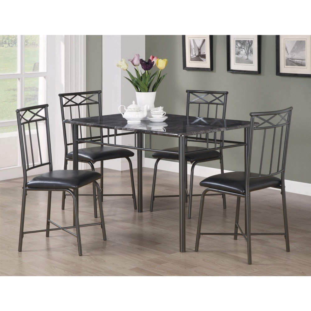 Winston Porter Isbell 5 Piece Dining Set (View 2 of 25)