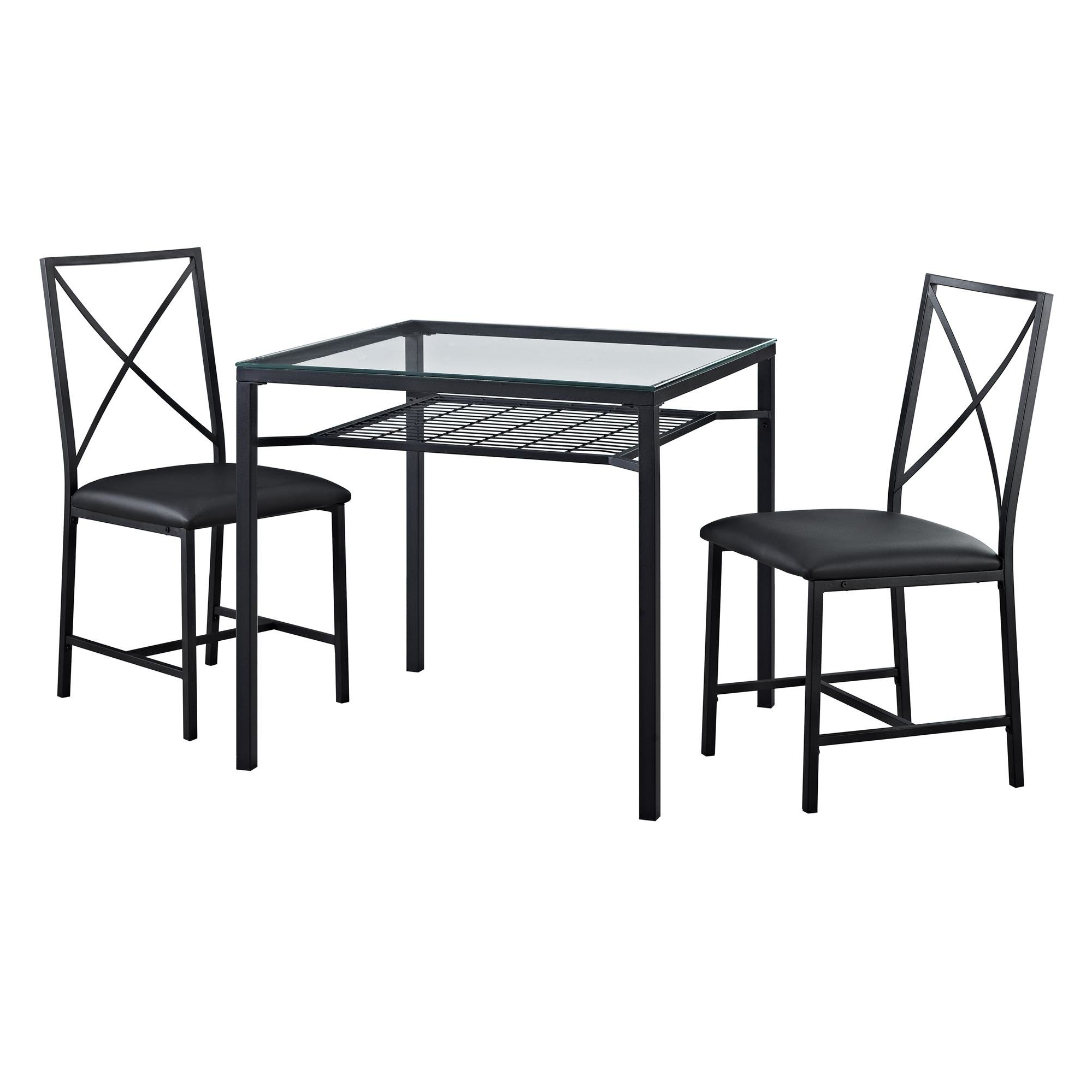 Zipcode Design Berryhill 3 Piece Dining Set & Reviews (View 12 of 25)
