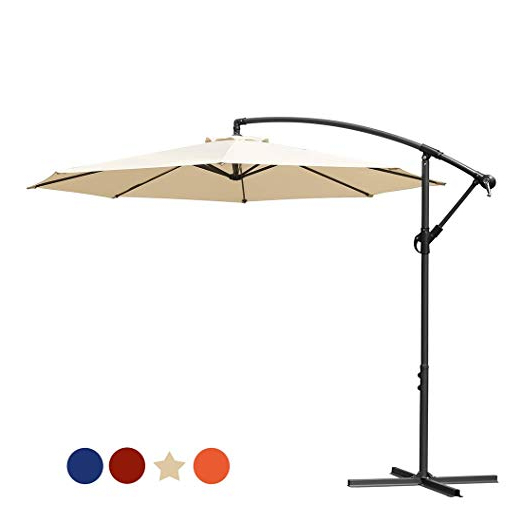 10 Best Cantilever Umbrella Reviewsconsumer Report In 2019 – The For Latest Ryant Cantilever Umbrellas (View 1 of 25)