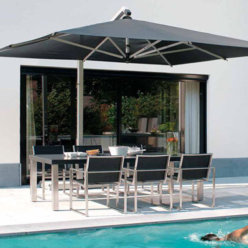 10' X 13' Aluminum Cantilever Umbrella Inside Latest Cantilever Umbrellas (View 2 of 25)