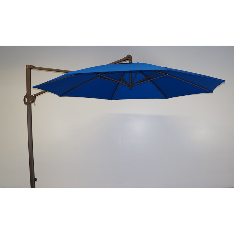 11' Cantilever Umbrella Regarding Fashionable Emely Cantilever Umbrellas (Gallery 21 of 25)