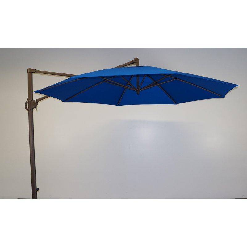 11' Cantilever Umbrella Regarding Fashionable Emely Cantilever Umbrellas (View 21 of 25)
