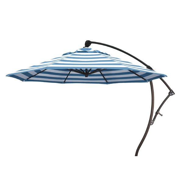 2017 9' Cantilever Sunbrella Umbrella Inside Emely Cantilever Sunbrella Umbrellas (View 25 of 25)