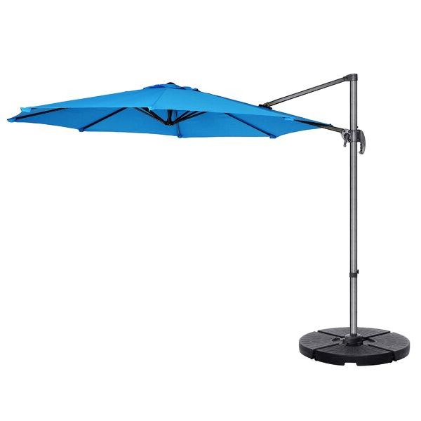 2017 Cockermouth Rotating 10' Cantilever Umbrella Regarding Iyanna Cantilever Umbrellas (View 1 of 25)