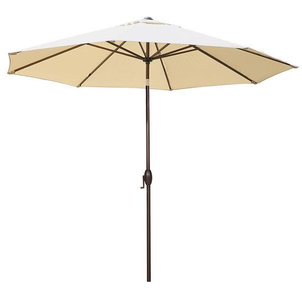 2017 Dena Rectangular Market Umbrellas throughout Trending Now Isom 11' Market Umbrellafreeport Park #furniture