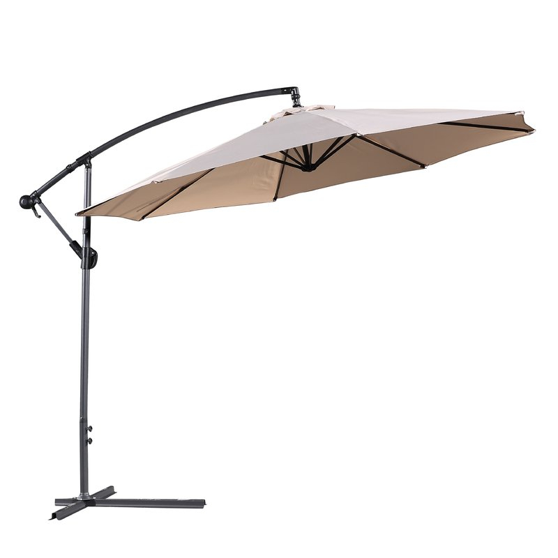 2017 Dore Patio Cantilever Umbrellas within Dore Patio 10' Cantilever Umbrella
