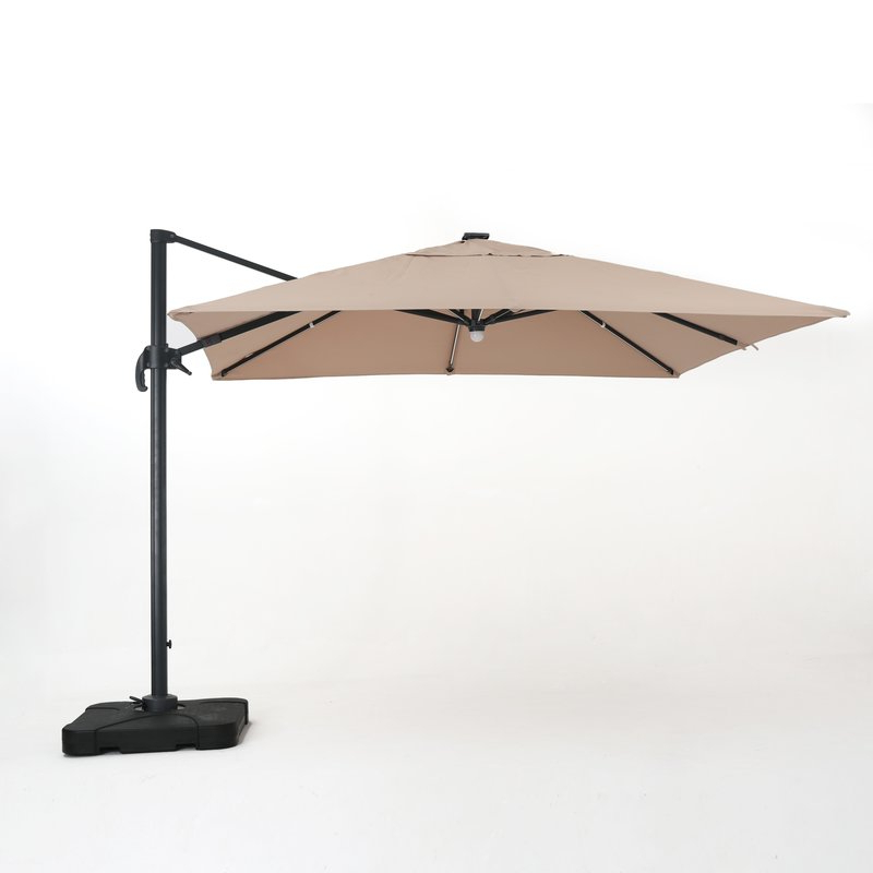 2017 Jendayi Square Cantilever Umbrella for Bondi Square Cantilever Umbrellas