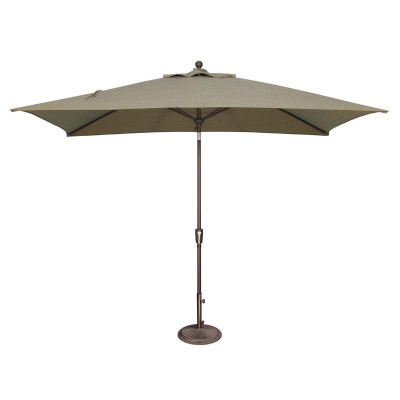 2017 Launceston 10' X 6.5' Rectangular Market Umbrella with regard to Market Umbrellas