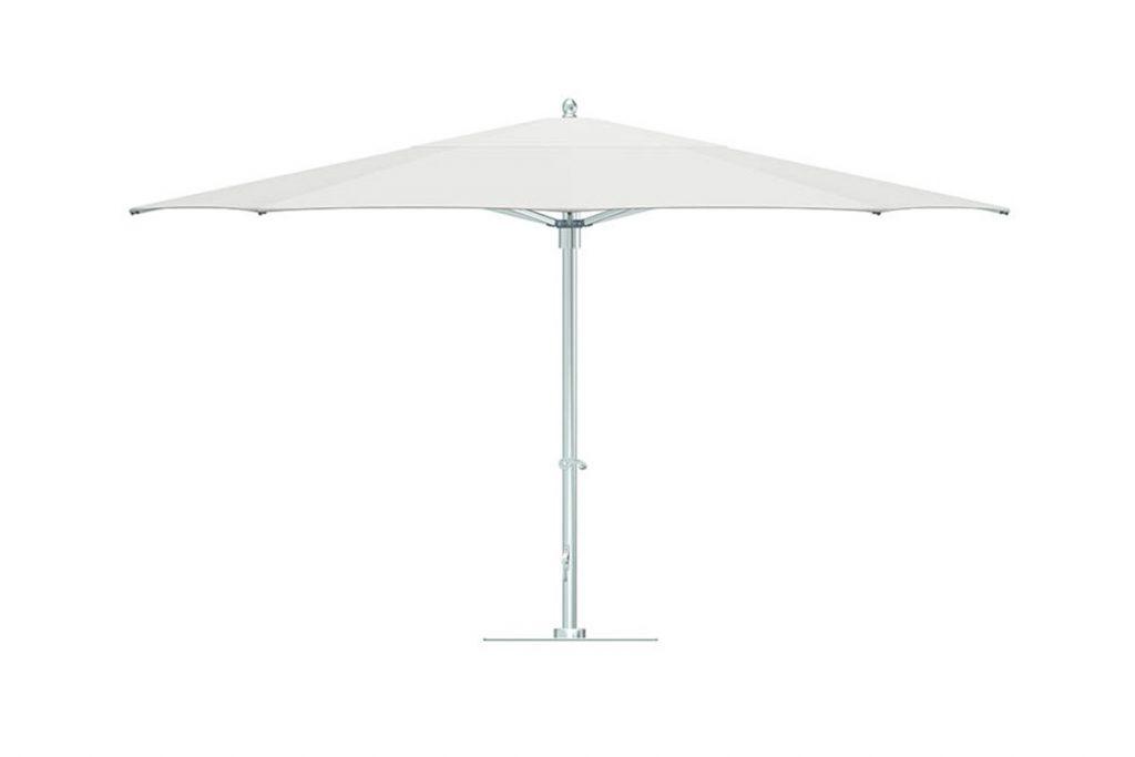 2017 Madalyn Rectangular Market Sunbrella Umbrellas Throughout Tuuci Bay Master Cantilever Parasol – Osier Belle (View 10 of 25)