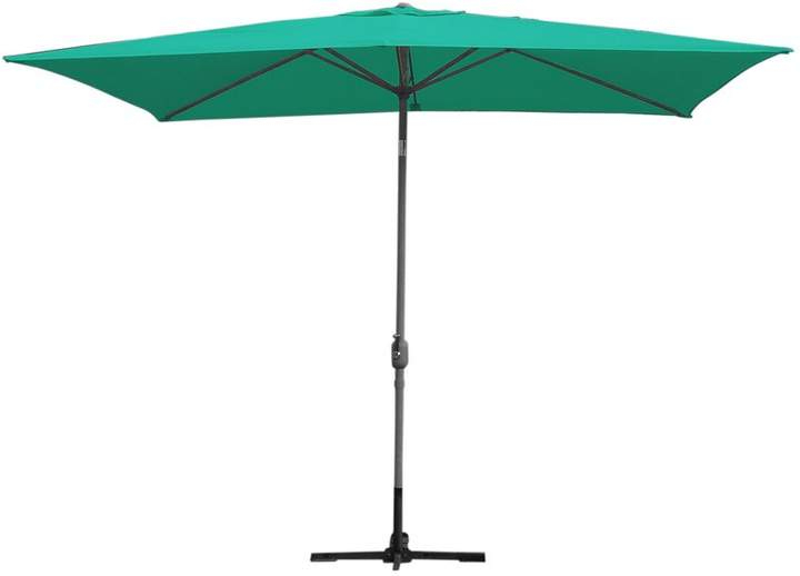 2017 Norah 10' X 6.5' Rectangular Market Umbrella In 2019