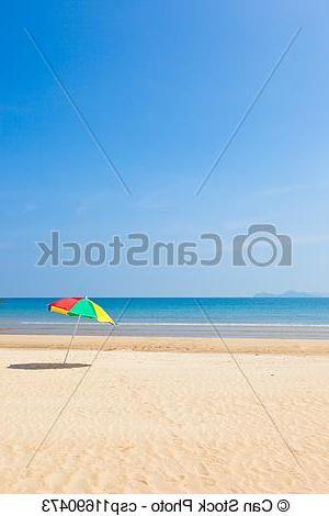 2017 Seaside Beach Umbrella For Seaside Beach Umbrellas (View 2 of 25)