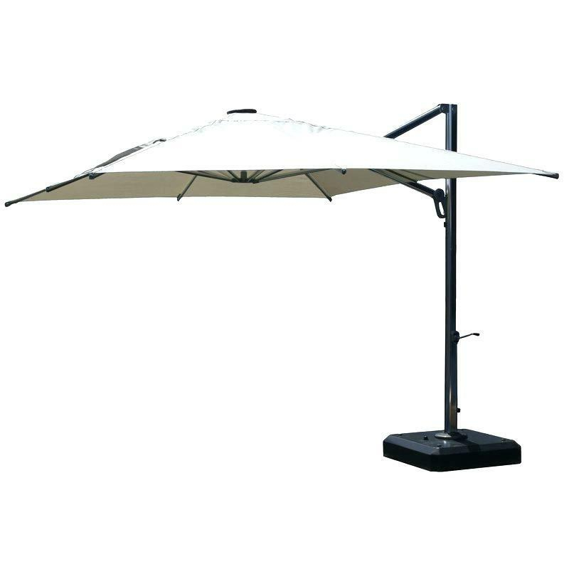 2017 Sunbrella Cantilever Umbrella – Auroraproject (View 20 of 25)