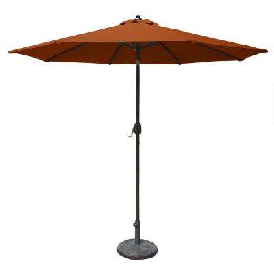 2017 Sunbrella Fabric – Patio Umbrellas – Patio Furniture – The Home Depot Intended For Julian Market Umbrellas (View 12 of 25)