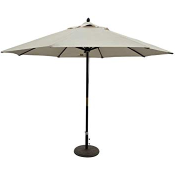 2017 This 11 Foot Outdoor Patio Market Umbrella Will Keep You Cool And Protected  From The Sun (View 1 of 25)