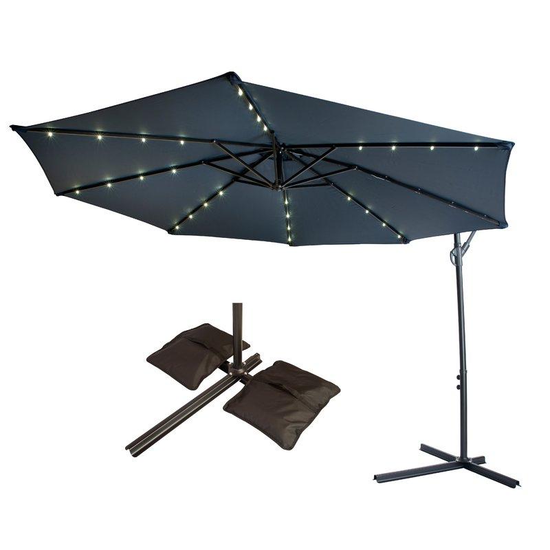 2018 10' Cantilever Umbrella For Jaelynn Cantilever Umbrellas (View 16 of 25)