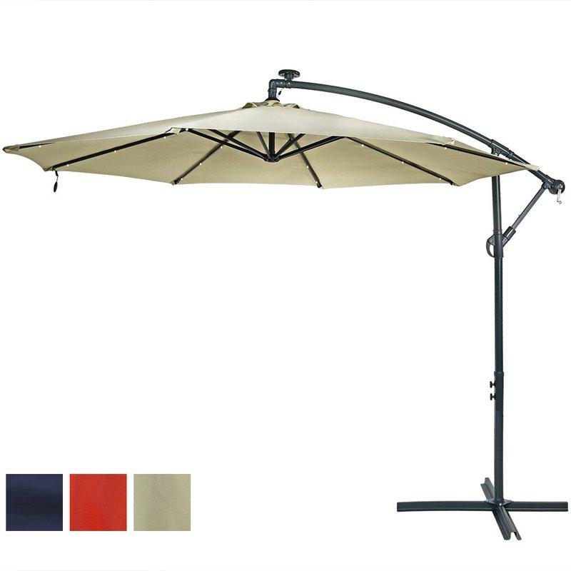 2018 Anna Cantilever Umbrellas in Anna 9.5' Cantilever Umbrella