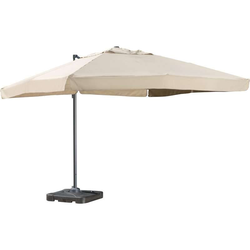 2018 Bondi 9.8' Square Cantilever Umbrella within Frederick Square Cantilever Umbrellas