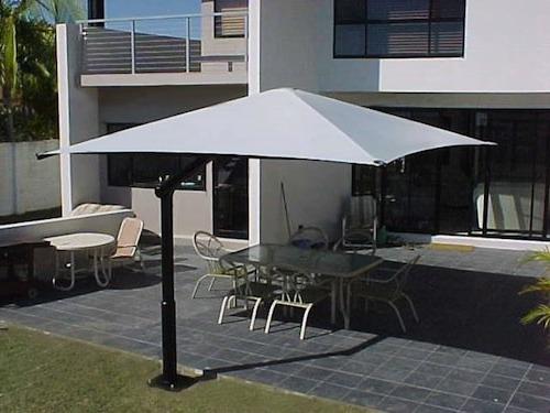 2018 Cantilever Umbrellas throughout Cantilever Umbrella: Ideal For A Budget Patio - Global Shade
