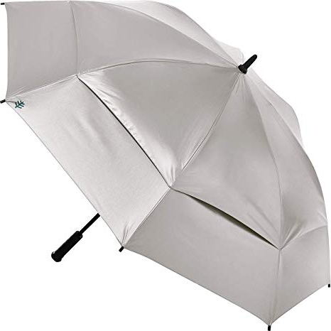 2018 Coolibar Upf 50+ Titanium Golf Umbrella - Sun Protective, Umbrellas with Annika Market Umbrellas