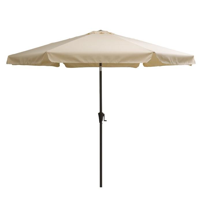 2018 Crowborough 10' Market Umbrella with Crowborough Market Umbrellas