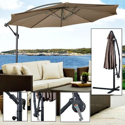 2018 Emely Cantilever Umbrellas In Pinterest (View 16 of 25)