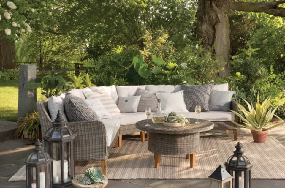 2018 Jendayi Square Cantilever Umbrellas Throughout The Best Deals To Shop At Wayfair's Outdoor Furniture Sale (View 21 of 25)