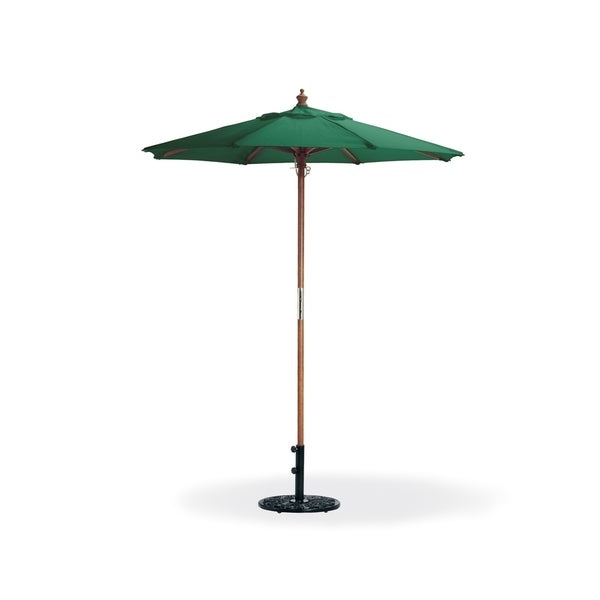 2018 Market Umbrellas With Regard To Oxford Garden Octagon 6 Foot Canvas Market Umbrella (View 16 of 25)