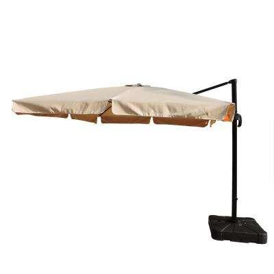 2018 Olen Cantilever Umbrellas Regarding Cantilever Umbrellas – Patio Umbrellas – The Home Depot (View 16 of 25)