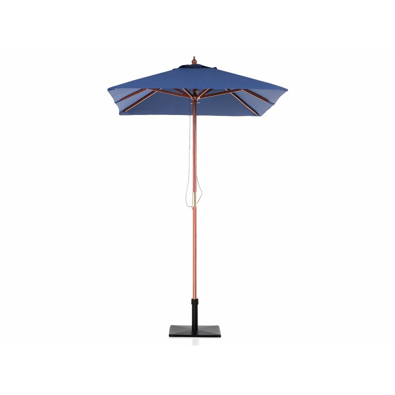 2018 Pau 4.7' X 6.4' Rectangular Market Umbrella within Pau Rectangular Market Umbrellas