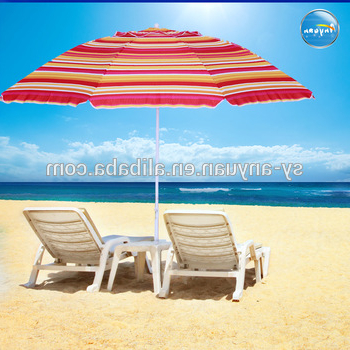 Featured Photo of Seaside Beach Umbrellas