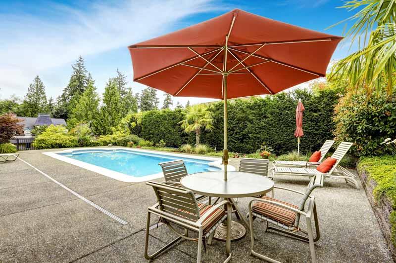 2018 The 7 Best Patio Umbrellas For Your Yard, Garden, Or Deck In 2019 for Sheehan Half Market Umbrellas