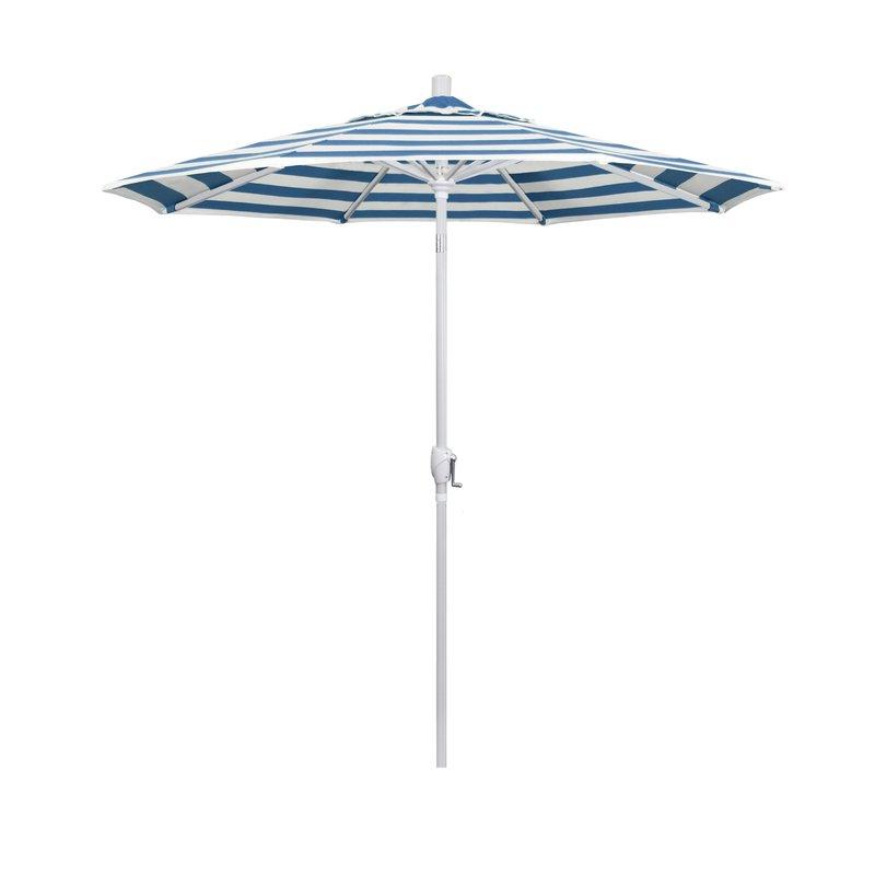7.5' Market Sunbrella Umbrella Intended For Current Wallach Market Sunbrella Umbrellas (Gallery 7 of 25)