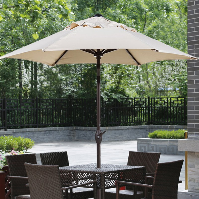 7.5' Market Umbrella With Regard To Well Known Docia Market Umbrellas (Gallery 13 of 25)